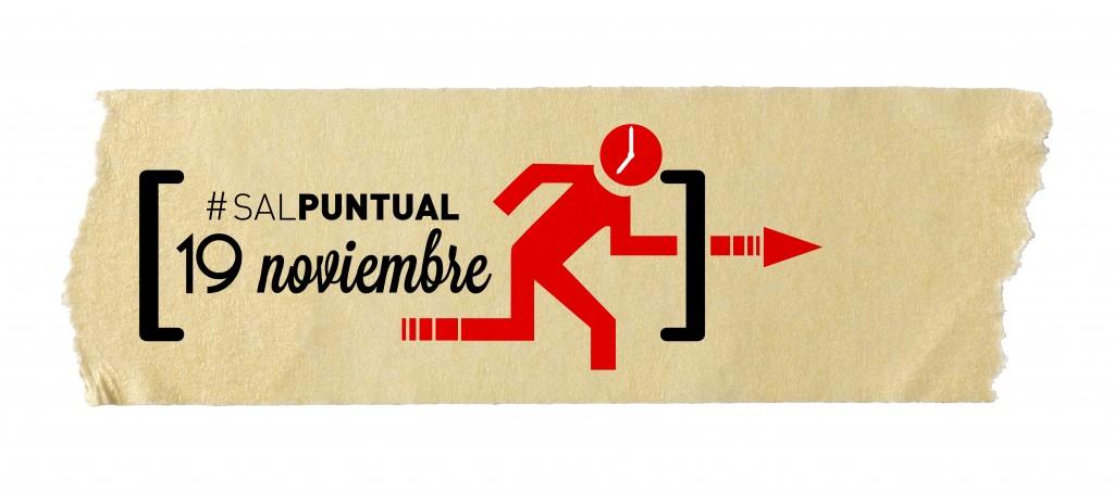 Logo #salpuntual 19 Noviembre